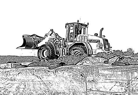 Kleurplaat Tractor Met Ploeg by Kleurplaat Trekker Met Ploeg
