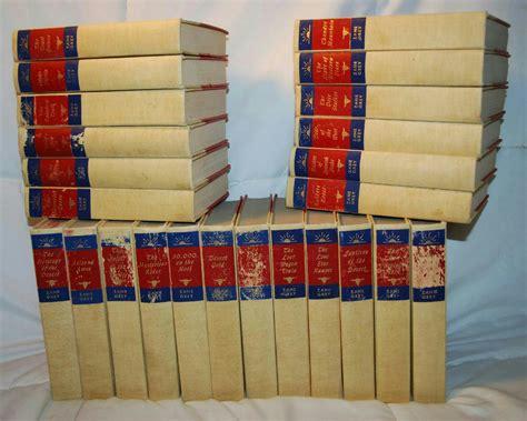 Zane Grey Books Zane Grey 1st Edition Western Novels Hardback Books Set Of