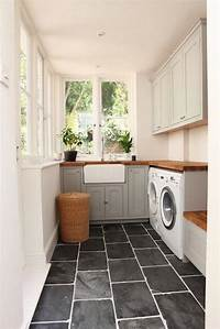 laundry room flooring My Favorite Laundry Room Tiles - Becki Owens