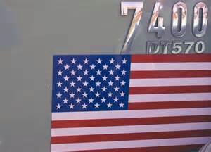 Free American Flag Decal