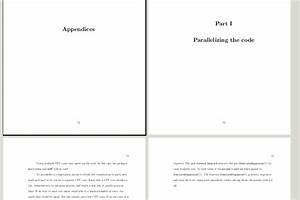 table of contents - How to add cover pages to appendices ...