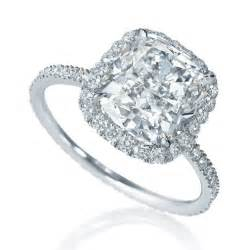 cushion cut solitaire engagement rings cushion cut cushion cut solitaire rings
