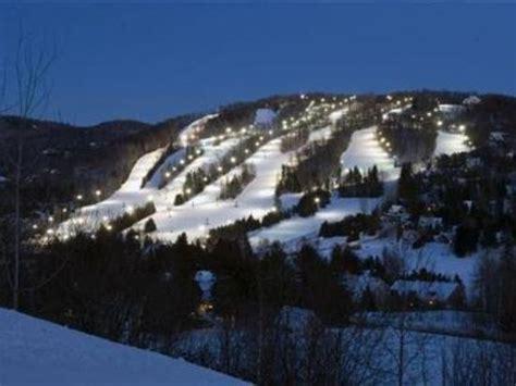 exterior view picture of chalet sauveur mont habitant resort ski la sauveur des