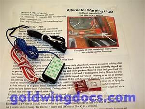 Gl1500 Alternator Warning Light  U2022 Product Reviews