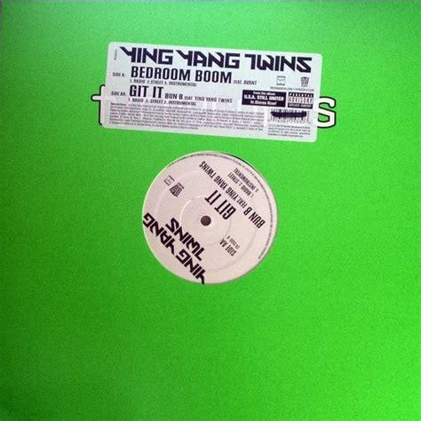 Bedroom Boom Instrumental by Ying Yang Bedroom Boom Git It Vinyl 12 Quot Discogs