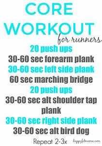 6 Core Workouts for Runners! - VitaTrain4Life