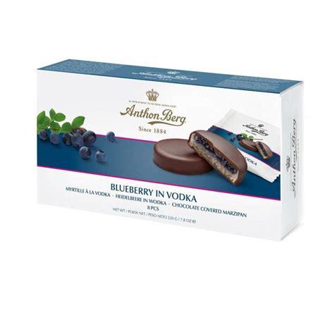 Šokolādes konfektes ar marcipānu, Anthon Berg - Biroja ...