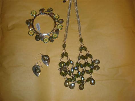 vera wang jewelry set necklace earrings bracelet  ebay