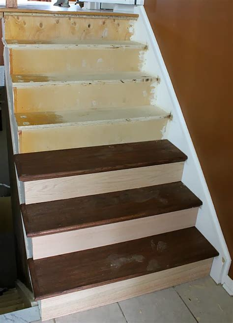 Stair Remodel Treads Ideas   Latest Door & Stair Design