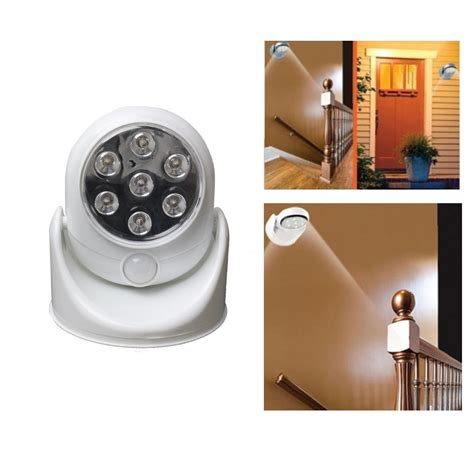 motion activated cordless sensor led light indoor outdoor