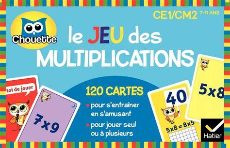 Livre: Le jeu des multiplications, Muriel Iribarne, Lucie ...