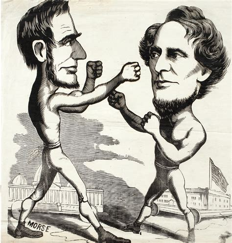 morse abraham lincoln boxing  jefferson davis