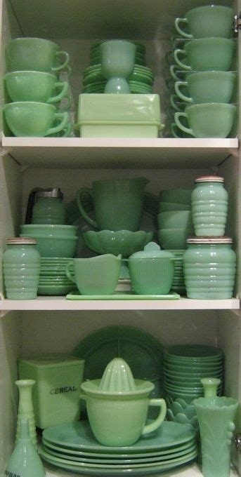 images  jadite  green depression glass
