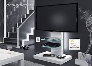 Tv Schrank Design : design fernsehtisch h 444 wei hochglanz tv schrank tv m bel tv rack lcd inkl tv halterung ~ Sanjose-hotels-ca.com Haus und Dekorationen
