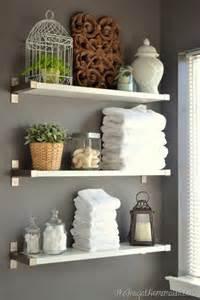 clever bathroom ideas 17 diy space saving bathroom shelves and storage ideas