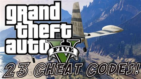 23 Cheat Codes! Cars, Explosive Ammo, Super