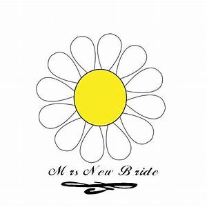 Daisy Outline Template