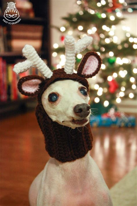 crochet reindeer patterns page