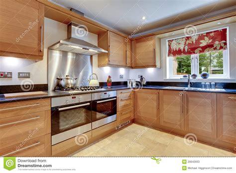 cuisine addic cuisine moderne de luxe photos stock image 20642933