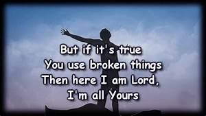 Broken Things -... Broken Lyrics