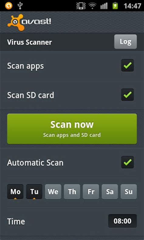 antivirus android avast security for android based smart phones downloads