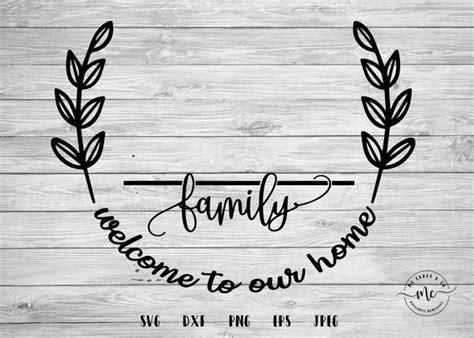 monogram svg family  svg   svg farmhouse sign