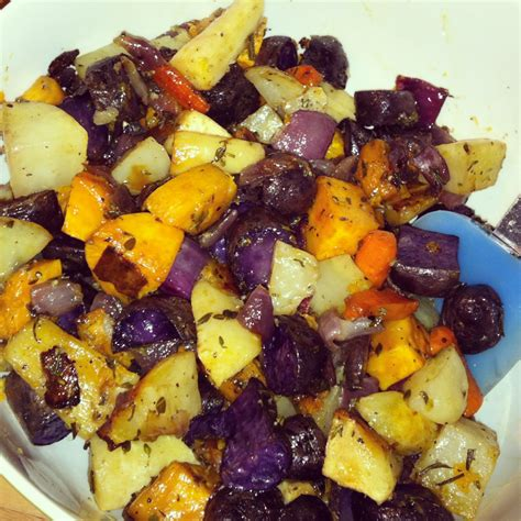 Do people decorate their homes? A Squared: Christmas Recipe Run Down: Roasted Root Vegetables