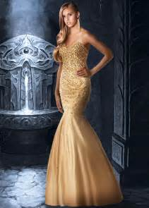 and gold wedding dress gold mermaid wedding dress dress journal