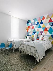Creative accent wall ideas for trendy kids bedrooms