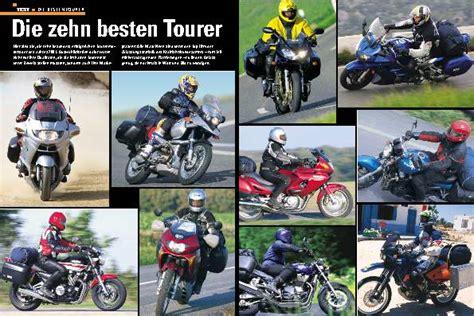 Tourenfahrer Archiv Test, Reise, Zubehör Tourenfahrer