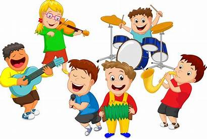Clipart Children Band Education Wordplay Study Five