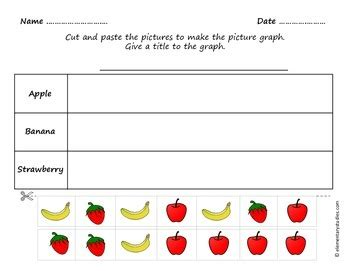 Picture Graph, Bar Graph And Tally Chart Worksheets By Elementarystudies