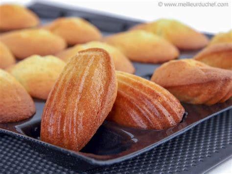 recettes cuisines faciles madeleines fiche recette illustrée meilleurduchef com