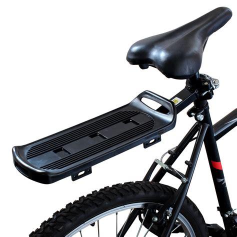 bike rear rack pedalpro rear bicycle luggage rack carrier bike cycle
