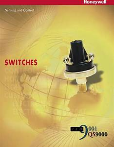 Honeywell Switches Users Manual 230642 Switch Catalog