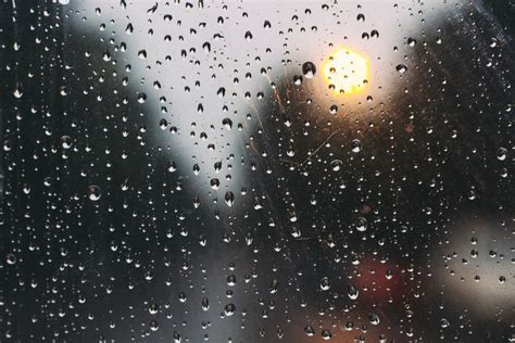 Glass Rain Drops