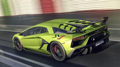 wallpaper lamborghini aventador svj  cars supercar