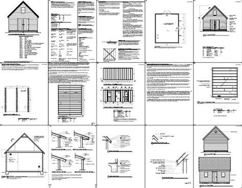 10 X 16 Shed Plans Free by Sheds Ottors 10 X 12 Gambrel Shed Plans Toronto Diy