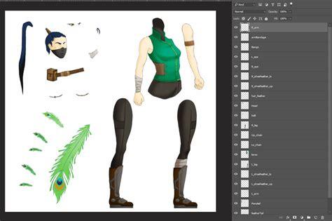 character animation  creating   mesh
