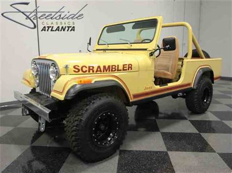 scrambler jeep years classifieds for classic jeep cj8 scrambler 16 available