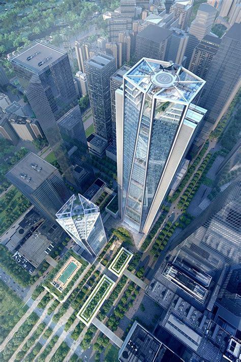 china merchants bank headquarters tower   skyscraper