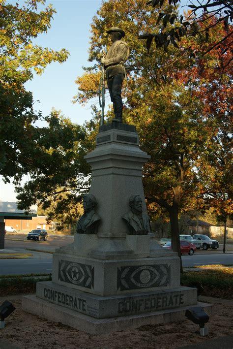 lamar county confederate memorial statue  portal