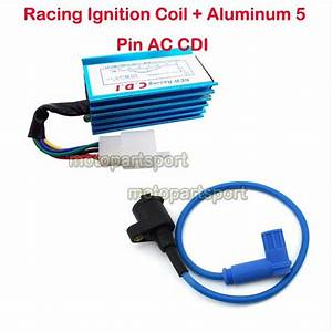 Blue Racing Ignition Coil Cdi For 90 110 125 150cc 160cc