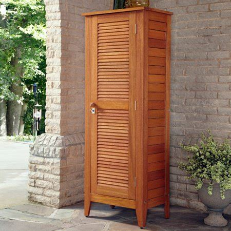 Outdoor Wood Cabinets by Home Styles Montego Bay 1 Door Multi Purpose Outdoor