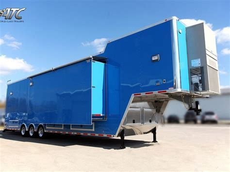 Gooseneck Office Trailer   Custom Trailers   MO Great Dane