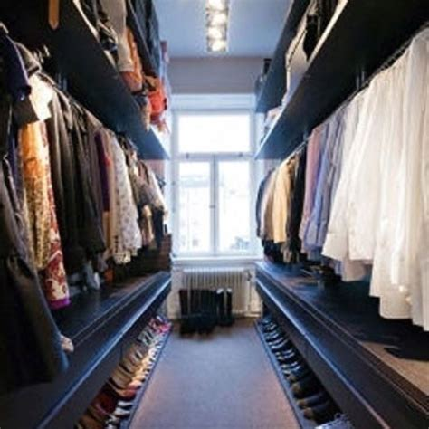 his and hers side closet however not so to where