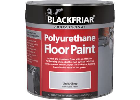 Polyurethane Floor Paint  Blackfriar Paints
