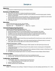 free sample engineering resume example With engineering resume examples