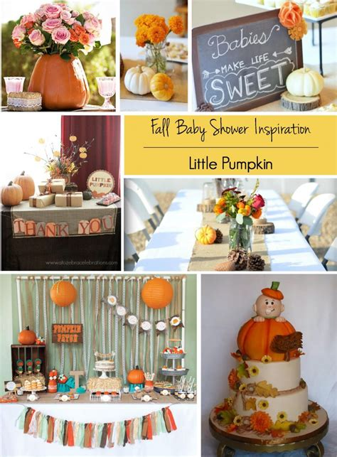 5 Fabulous Fall Baby Shower Themes Party Planning
