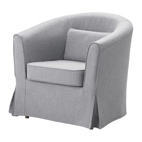 club chair covers tullsta chair nordvalla medium gray ikea